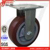 Plastikpolyurethan-örtlich festgelegte Hochleistungsfußrolle des kern-6X2