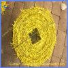 Горячее сбывание гальванизированное или колючая проволока PVC Coated для загородки