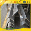 Fornecedor de alumínio 6061 6063 Perfil de ângulo de alumínio industrial extrudado