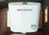 Cisterna de pared PP para inodoro sentado