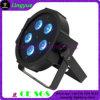 Mini iluminación plana de DJ de la IGUALDAD del poder más elevado 5X10W LED de DMX