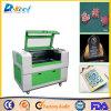 Gravador da máquina de gravura do laser do CO2 para o plástico, papel, couro, acrílico