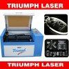 Mini-CNC Laser-Ausschnitt-Maschinen-Preis für hölzernen kleinen Schreibtisch-Laserengraver-China-acrylsauertriumph
