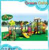 子供のPlayzoneの演劇の一定の屋外の遊園地のプラスチックスライド