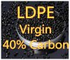 Granules noirs de LDPE de Masterbatch 40% d'injection