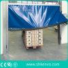 Porte rapide à réparation automatique d'élévation de tissu de PVC pour l'entrepôt