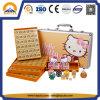 Горячая продажа оранжевый и розовый Hello Kitty Mahjong окно (HT-3030)