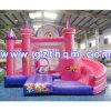 Castelo inflável do Bouncer do painel da arte da impressão/casa inflável gigante do salto inflável