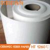 Papel de fibra de cerámica de Kaowool 1260 de la prueba de fuego de Lowes