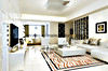 Белая Polished плитка настила фарфора для живущий комнаты