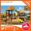 Heißer Verkaufs-Kind-im Freien Plastikspielplatz-gesetztes Plastikspielplatz-Gerät