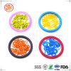 Anel-O colorido da resistência de água do silicone com relatório do FDA