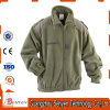 Alta calidad del OEM en chaqueta polar del paño grueso y suave del algodón de encargo llano