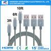 Multi Farben-Beleuchtung-Daten-Synchronisierung USB-Kabel für alles Mobiltelefon