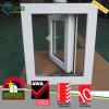 Tempo de vinil branco resistente ao impacto do furacão Casement Windows