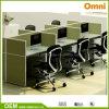 Nouveau poste de travail moderne de bureau de six personnes (OM-CB-03-20mm)