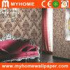 Les paillettes de style européen de papier peint pour chambre d'hôtel