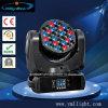 tête mobile de faisceau de l'écran LCD 160watt DEL du CREE RGBW 16CH 16bit de 36PCS 3W