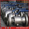 Forged Steel Reduce Bore Flanged Trunnion Ball Valve