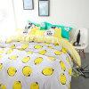 China fábrica de fabrico de venda directa de roupa de cama de algodão impressa