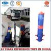Cylindre hydraulique télescopique à montage avant pour camions à benne JAC