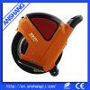 De oranje Goedkope Vouwende e-Autoped Unicycle van de Fiets voor Verkoop met Handvat
