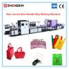 De niet Geweven Zak die van het Handvat van de Doos Machine met Hoge snelheid zxl-E700 maken