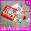 2015 Puzzle des animaux en bois d'administration de l'éducation, bon marché de gros de puzzle en bois jouet d'animaux, de promotion bloc de bois jouet Puzzle W13A068