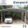 Carport popular del metal del estacionamiento del coche del doble del diseño con la azotea de la PC