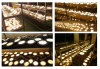 [30و] يتراجع [لد] عرنوس الذرة إلى أسفل ضوء سقف مستديرة عميق