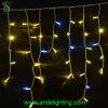 Luzes de cintilação do sincelo do diodo emissor de luz do Natal