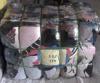 使用された衣類、秒針の衣服、使用された袋、使用された靴