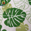 Textile Luggage Bags (GLLML135)のためのリネンCotton Leaves Printed