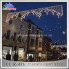 CE/RoHS aquecem a luz do motivo da rua do diodo emissor de luz do Natal branco