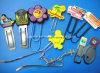 Marcadores de clips de papel personalizados de goma para la promoción (clip de papel 1021)