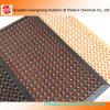 Couvre-tapis creux en caoutchouc Inde/nattes en caoutchouc de plaque de couvre-tapis/contrôleur de trottoir