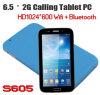 Portable Multi-Color 6.5  mini 2g 3G que chama o PC da tabuleta