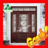 艶をかけられた前ドア(木のドア)