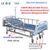 Drei Kurbel-manuelles luxuriöses Krankenhaus-Bett