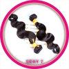 Ombre molhado e ondulado boémio coloriu o Weave indiano do cabelo de Remy