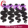 оптовая продажа 100% человеческих волос девственницы волос тела качества 7A бразильская