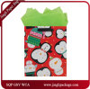 Horizontal tradicional regalo de Navidad maletas bolsas de papel para la Navidad de Jingli bolsa de papel