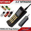 Neuer Retro Mt8858 Dual SIM Dual Standby Bluetooth 18000mAh Battery Different Colors Retro Handy