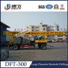 Camion bon/bas de page de plate-forme de forage d'alésage monté pour le grand diamètre 300mm~500mm