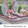 Lancil feito sob encomenda Set Double Headstones de Cheap Granite para o cemitério