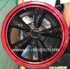 Алюминий снабжает ободком оправы колеса колес автомобиля 17*8j автоматические