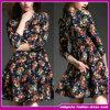 2015 Novo design caros curto de Manga Longa vestido de celebridades/Prom Dress (WES004)
