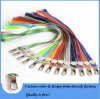 Correia, transferência de calor de fibra de poliéster / cordão personalizado impresso