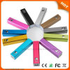Beste Promotion Gift Power Bank Charger 2600 mAh met Ce, FCC, RoHS Certificate