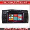 Speciale GPS van Car DVD voor Mercedes R300 Android (advertentie-9306)